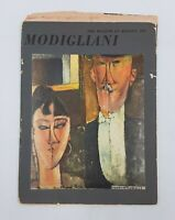 MODIGLIANI Mid-Century MUSEUM OF MODERN ART Book 1951 Vintage Original