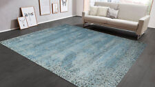 Erased Design 8'x10' HandKnotted Persian Style Woollen Area Rugs & Carpets