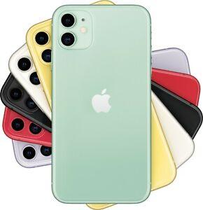 Apple iPhone 11 6.1-inch 64GB REAL Dual SIM Hong Kong A2223 Unlocked FedEx