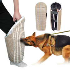 Jute Large Dog Bite Leg Sleeve for Training POLICE K9 SCHUTZHUND German Shepherd
