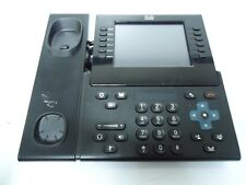 CISCO CP-9971 Unified Touch Screen Color VOIP BLACK Phone Base UNIT ONLY!
