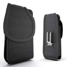 For OnePlus 7 Pro Case Cover Belt Clip Holster Rugged Nylon Vertical Pouch Black