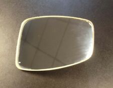 Mirror rectangular flat back chrome for Vespa, LML & Lambretta