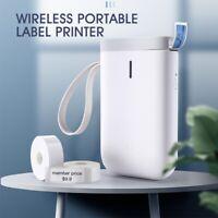 Mini Pocket Thermal Label Printer Bluetooth Wireless Paper Name Sticker Maker