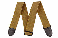 """Genuine Fender® 2"""" F Tweed Guitar Cotton Strap 099-0686-004"""