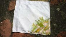 Hand painted linen Napkins 30's