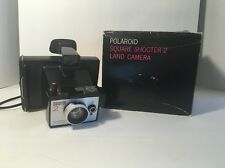 POLAROID Land Camera SQUARE SHOOTER 2 Steampunk Display Untested, AS IS!!