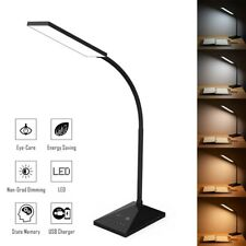 Dimmable LED Desk Lamp Touch with USB Charging Port 7...