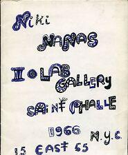 SAINT PHALLE. Nanas. Iolas Gallery 1966 N.Y.C.