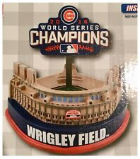 "Chicago Cubs MLB Baseball 2016 World Series Mini 8"" Wrigley Field Figurine"
