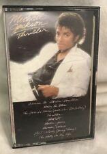 1982 Micheal Jackson THRILLER cassette tape, 1980's music