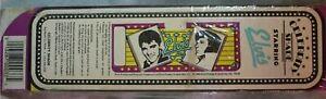 Vintage 1986 Elvis Car Sun Shade Visor Windshield Accordion Cardboard