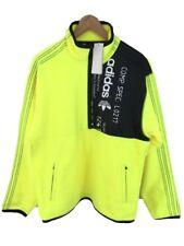 adidas x Alexander Wang Polar Half Zip Fleece Jumper CV5250 - Yellow S £215 New