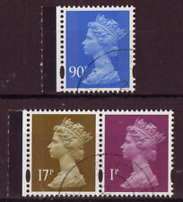 GREAT BRITAIN 2009 THREE LITHO DEFINITIVES EX. NAVY BOOKLET  FINE USED