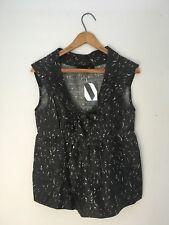 Isabel Marant Raw Silk gray Top size 0 XS NWT New