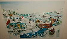 "ROBERT LOGRIPPO ""HOME FOR THE HOLIDAYS"" HAND SIGNED LITHOGRAPH WITH C.O.A."