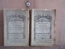 Bibliothèque nationale/MALTHUS et Les économistes TOME I & II