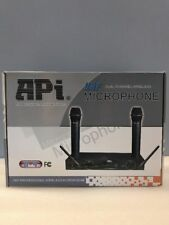 Api U-9 Uhf Professional Wireless Microphones