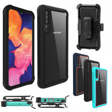 For Samsung Galaxy A70 (Clip fits Otterbox Defender) Case Holster Rugged Cover