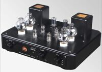 Queenway MC67-PL Tube preamplifier circuit MM phono amp MC7R-II w/Remote Control