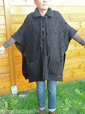 grandi gilet lana nero inverno MC PLANET T 40 etichetta di alta qualità val