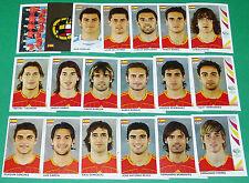 PANINI FOOTBALL GERMANY 2006 ESPAGNE ESPAÑA ROJA WM COMPLET FIFA WORLD CUP