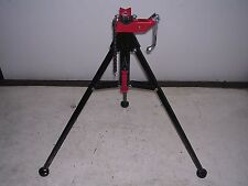 New Pipe Threading Tristand Reed Rothenberger Collins 18 2 12 Chain Vise 33lb