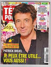 """""""Patrick Bruel""""  Miss France 2014 ♥  pour Collectionneur ♥ TELE POCHE déc 2013"""