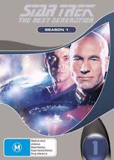 Star Trek Next Generation : Season 1 (DVD, 2006, 7-Disc Set) VGC Pre-owned (D97)