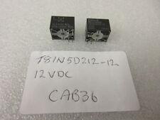T81N5D212-12 ULTRAMINIATURE RELAY PCB RELAY 24VDC 1 Per Sale