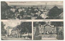 Ak Weißenborn bei Freiberg / Sa. Gasthof Kriegerdenkmal um 1920 ! (A1273