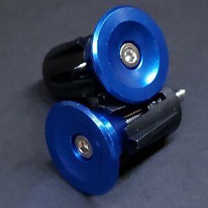 💥 Aluminum CNC Bike Handlebar Bar End Plug Caps Bicycle MTB Road Drop 7 Colors