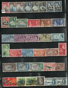 BRITISH COLONIES   LOT OF VERY OLD STAMPS # 16  A