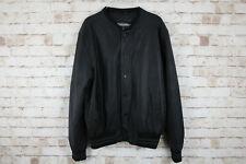 Burton Black Bomber Jacket size L
