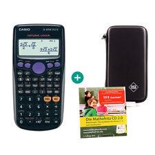 Casio FX 82 DE Plus Taschenrechner + Schutztasche,MatheFritz Lern-CD (Deutsch)