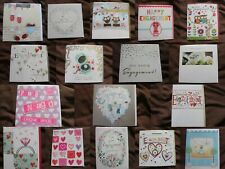 Choice of 17 Engagement cards - congratulations, wedding