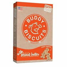 Buddy Biscuits Teeny Treats Peanut Butter 8 oz | For Small Dogs and Puppies