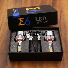 AU Stock Car LED H11 Headlight Bulbs Conversion Kit 6000K 72W 7600LM Xenon White
