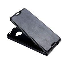 CUSTODIA FLIP COVER  CASE FINTA PELLE PER SMARTPHONE Alcatel Idol 4S ALC-64
