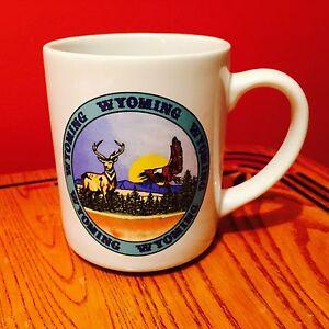 Wyoming Souvenir Coffee Mug/Cup