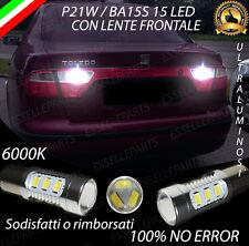 COPPIA LAMPADE RETROMARCIA 15 LED P21W CANBUS SEAT TOLEDO II NO AVARIA