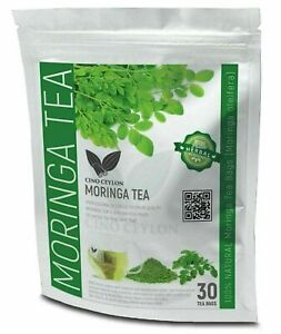 Moringa (oleifera Antioxidant) Herbal Natural Ayurvedic Tea bags Organic tea