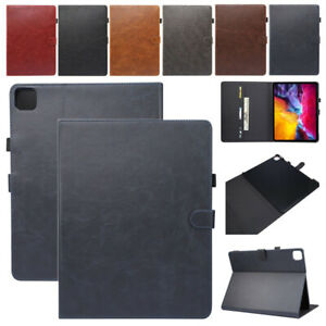 For iPad Pro 12.9 inch 5th 2021 2020 2018 Wallet Leather Smart Stand Case Cover