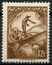 Hungary 1933 SG#559, 75f Air MH #A92897