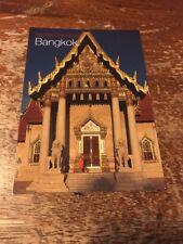 Thailand Postcard 126-F Wat benchamabophit Bangkok