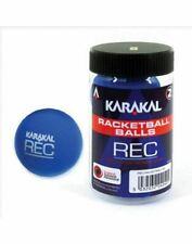 Karakal Recreation Ball Blue Squash Court Rubber Racquetball Tub - Pack of 2