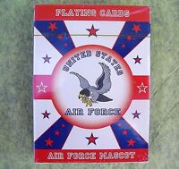 United States AIR FORCE Joe the Falcon MASCOT Playing Cards SEALED DECK