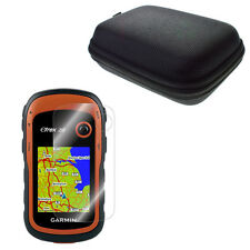 LCD Screen Protector + Portable Protect Case Bag for Handheld eTrex 10 20 30 (x)