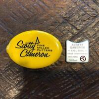 Scotty Cameron Circle T Coin Case & Ball Marker Rare Golf
