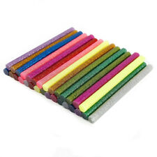 36 x Glitter Glue Sticks Hot Melt Adhesive 100mm x 7mm For Heating Gun
